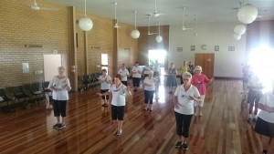 Tai Chi for Arthritis group