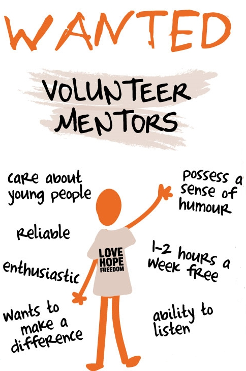 If you want to volunteer as a Mentor